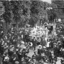 1909 Harmonie vd Jongelingencongregatie bij het zilveren pastoorsfeest van G. v Haaren in Baardwijk